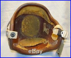 Vintage Korean War Era Fighter Pilot Helmet P-1B Shelby Shoe Co