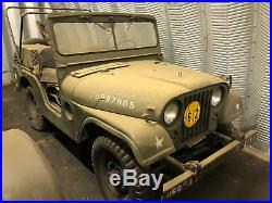 Vintage Korean War Era Kaiser Jeep M38A1 with Vintage Radio and Clear Title