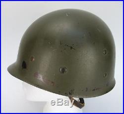 Vintage Korean War Era M-1 Helmet Liner