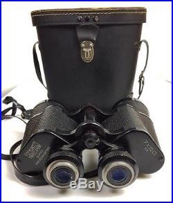 Vintage Korean War Era Rare Made In Korea Precision Optics Field Binoculars