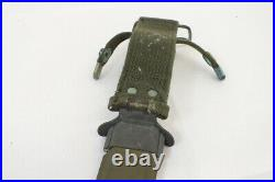 Vintage Korean War Era US M8 A1 Bayonet with Scabbard