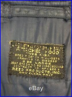 Vintage Korean War Era USAF N-3A Flight Jacket/Parka USA Mens Large