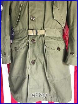 Vintage Korean War Era USAF Parka with Removable Liner Medium Beautiful