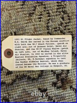 Vintage Korean War Flight Jacket Intermediate G-1 Size 42
