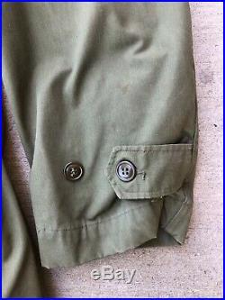 Vintage Korean War Parka Coat Jacket 1951 with Liner Air Force Overcoat M-1947