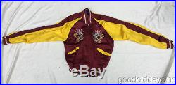 Vintage Korean War Silk Embroidered Jacket Reversible Korea