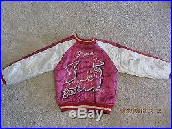 Vintage Korean War Souvenir Jacket Sukajyan Tailor Toyo Yokosuka