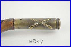 Vintage Korean War Trench Art Swagger Stick Army 7th Cavalry Paul M. Thornhill