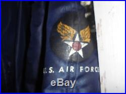 Vintage Korean War Usaf N-3a Extra Large Jacket Air Crew Heavy, Attached