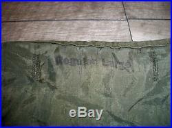 Vintage M-1951 Fishtail Alpaca Parka Liner US Army Korean War For Field Jacket L