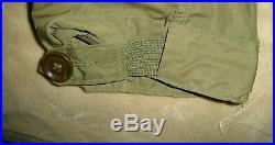 Vintage M-1951 Fishtail Parka Shell With Liner Dated, Korean War Medium
