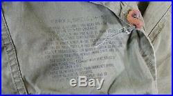 Vintage M-1951 Korean War Era Army Fishtail Green Parka Coat Shell M51 M-51