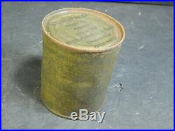 Vintage Military C-Ration RARE Korean War with Cigarette Gum Accessory Packet Tin