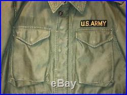 Vintage Original M51 M1951 Field Jacket Korean War USA Military US ARMY PATCH