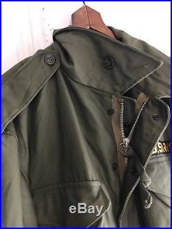 Vintage Original M51 US Army Korean War Field Jacket Dead Stock M