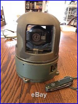 Vintage Torpedo Gyroscope Military USMK37 Korean War era ordinance gyro
