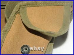 Vintage U. S. N. Medic Field Bag Korean/Vietnam War Era