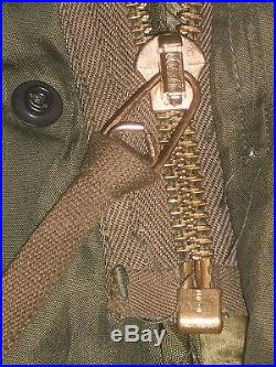 Vintage US Army 1951 Jacket Korean War Parka Military Unform Hood