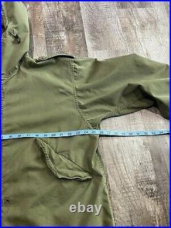 Vintage US Army M-1951 Fishtail Parka Korean War