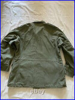 Vintage US Army M-51 Field Jacket 1952 Korean War Medium Excellent Patched