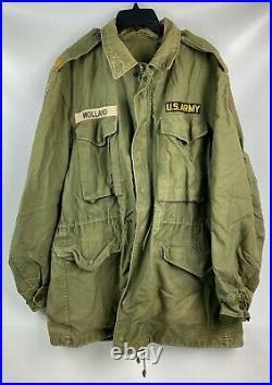 Vintage US Army Officer M1951 M51 Field Jacket OD Medium Regular Korean War