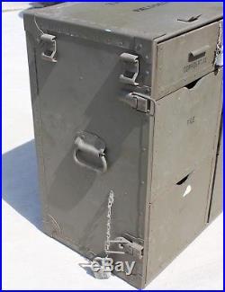 Vintage US Military M1945 Wooden Field Desk Army Navy USMC Surplus Korean War Er