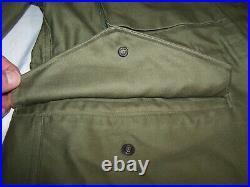 Vintage Us Military Army Korean War M1951 Field Jacket Large-short Unissued Rare