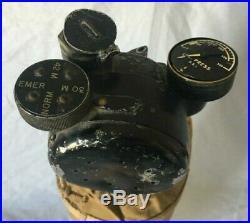 Vintage WW II / Korean War / Vietnam Oxygen Tank, Superb Condition