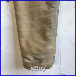 Vintage WWII N1 Deck Jacket Small 38 WW2 Or Korean War USN Navy Civilian N-1