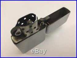 Vintage ZIPPO lighter Korean War era steel case 2032695 near mint withoriginal box