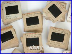 Vtg 1950s 35mm film 263 SLIDES KWAJALEIN Air Force Navy Base KWAJ Korean War Era