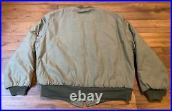 Vtg 40s 50s Military TANKER Jacket Army Combat USMC USN Navy Korean War Era Coat