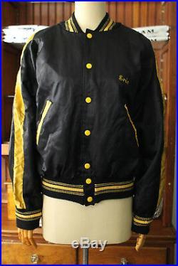 Vtg 50s Korean War 6th Shoran Beacon Sqd USAF Landstuhl AFB Souvenir Tour Jacket