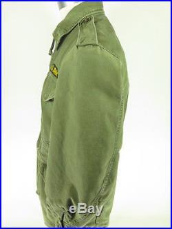 Vtg 50s Korean War ERA FIELD JACKET COAT M US ARMY Military M-1951 Liner