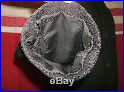 Vtg Korean War Era U. S. Navy, 8 Buttons Wool Pea Coat Corduroy Pockets. Size 36