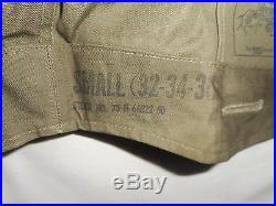 Vtg M-1950 Field Jacket Korean War Era M. Bogen Co. No Liner, Small Short