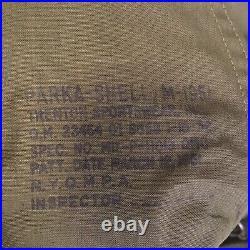 Vtg M-1951 M-51 M51 Fishtail Parka Wool Blend Liner Medium Korean War Era FS