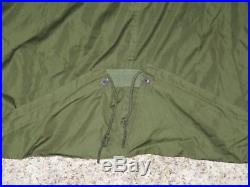 Vtg M1951 Korean War Us Army Fishtail Military Parka-shell Jacket M