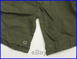 Vtg M51 Fishtail Parka XL Korean War US Army OD Green Sateen NICE