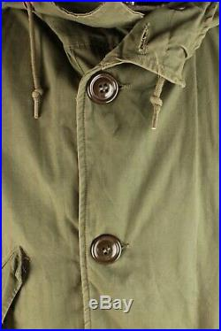 Vtg Men's 1950s Korean War US Army Parka Sz Medium 50s Coat #7113