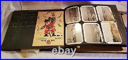 Vtg Post Korean War Era Photo Album Photo Scrapbook K55 Osan Air Base 1959 1960