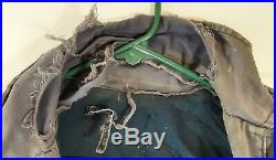 Vtg Post WWII Korean War US Navy OIDIV Watch Your Back Patch Deck Jacket No Tag