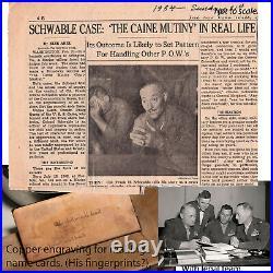 WW2, Col. Frank Schwable WW2 USMC Aviation Pioneer, Famous Korean War POW