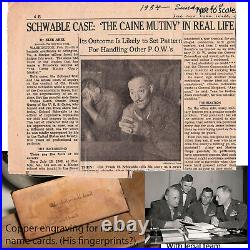 WW2, Col. Frank Schwable WWII USMC Aviation Pioneer, Famous Korean War POW
