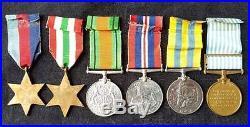 WW2 Group of Four & Korean War Pair RAMC