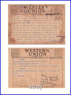 WW2, Important USMC Aviation Pioneer & Korean War POW Col. Frank Schwable