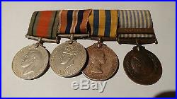WW2 Korean War British/Canadian Medal Grouping Named G A O'Brien SB 13870