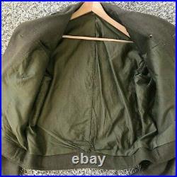 WW2 / Korean War Era 17th Airborne IKE Jacket RARE SIZE 44L