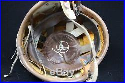 WW2 Korean War Era USAF US Bone Dome Helmet Effects Group 65th Fighter Squadron