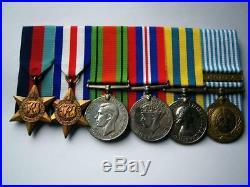 WW2 Korean War Imjin river medals Pt Sissons Northumberland Fus Welch Warwick RA